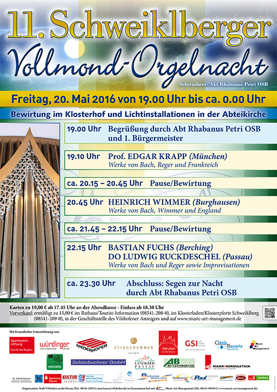Orgelnacht 2016
